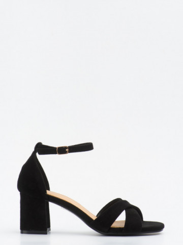 Sandale cu toc cod SK75 Black