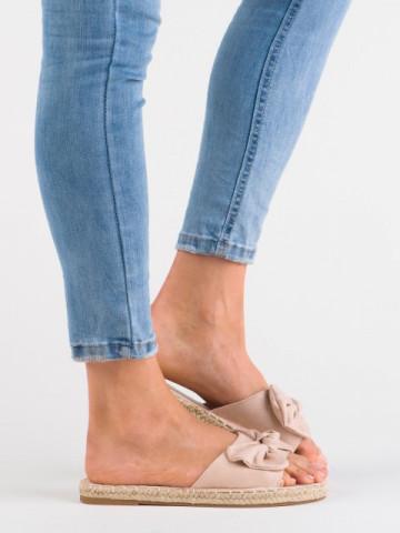 Papuci cod 99-6 Beige