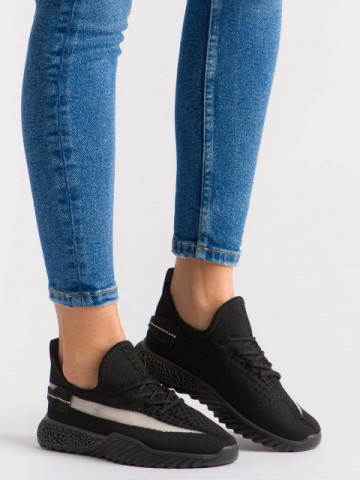 Pantofi sport cod 1653 Black