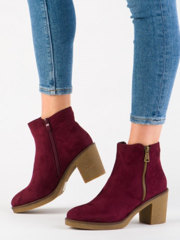 Botine cod 2013 Wine Red