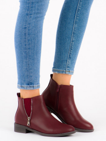 Ghete cod Y8156 Wine Red