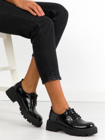 Pantofi casual cod KM16-19 Black