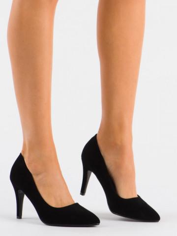 Pantofi cu toc cod 20-26A Black
