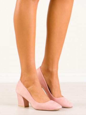 Pantofi cu toc cod 9225-20 Pink