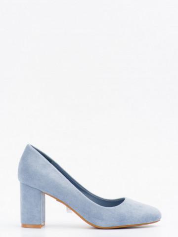 Pantofi cu toc cod LL239 Blue