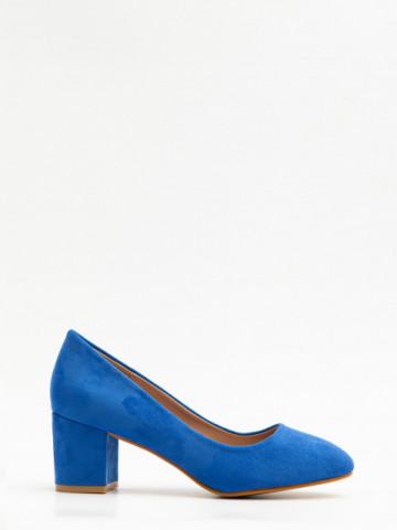 Pantofi cu toc cod X21-237 Blue