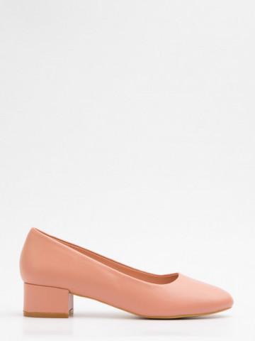 Pantofi cu toc cod X21-735 Carnation
