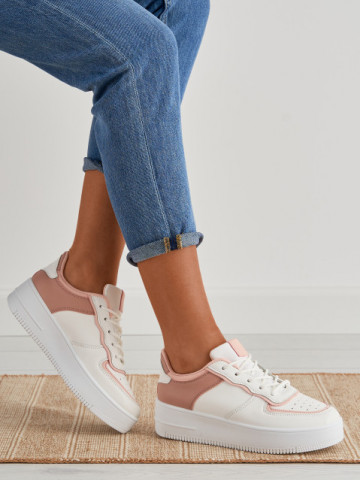 Pantofi sport cod 02 White/Pink