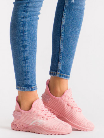 Pantofi sport cod 1660 Pink