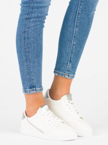 Pantofi sport cod 410 White/Silver