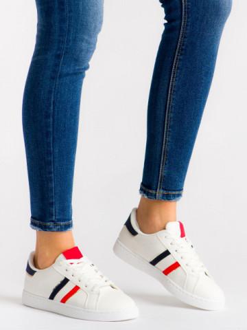 Pantofi sport cod 415 White/Red/Blue