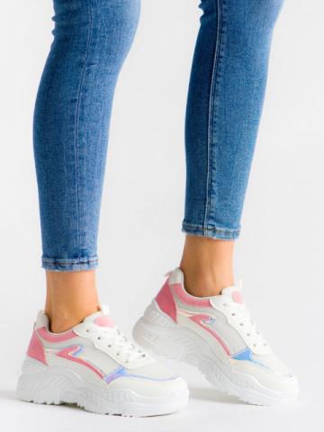 Pantofi sport cod 878 Pink