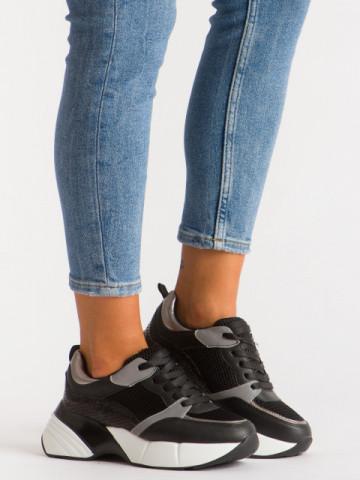 Pantofi sport cod A1059 Black