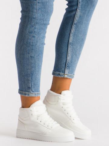 Pantofi sport cod AJ18 White