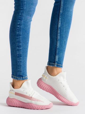 Pantofi sport cod B01 White/Purple