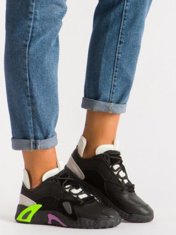 Pantofi sport cod B12-7 Black