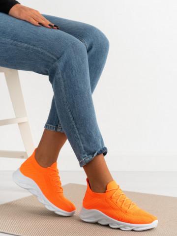 Pantofi sport cod D082 Orange