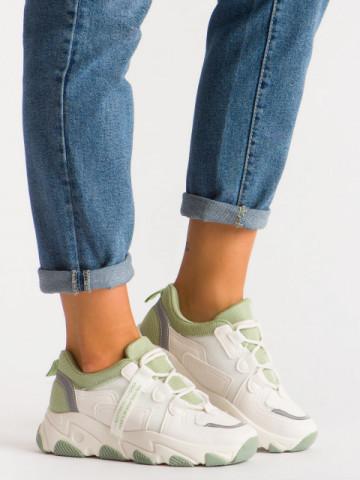 Pantofi sport cod D15 Green