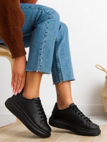 Pantofi sport cod D865 Black