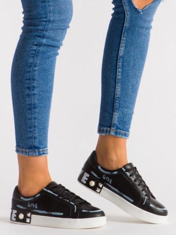 Pantofi sport cod G272 Black
