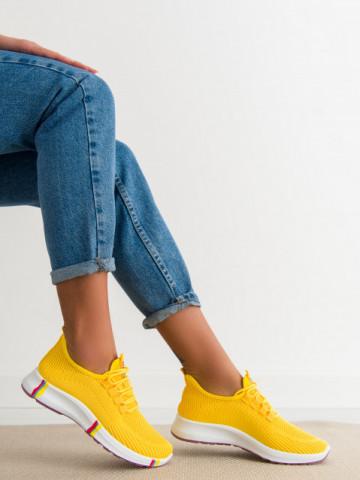 Pantofi sport cod H601-1 Yellow
