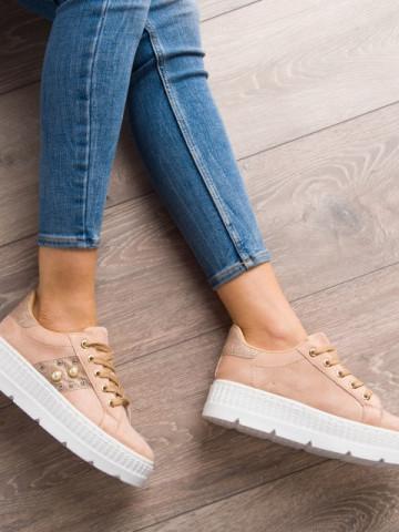 Pantofi sport cod KB055 Beige