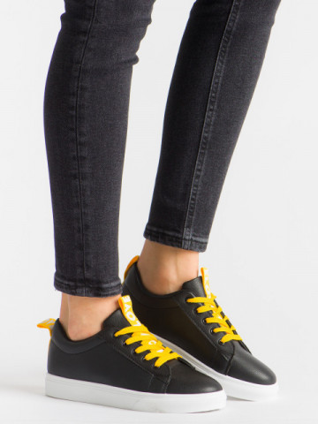 Pantofi sport cod M-6 Black/Yellow