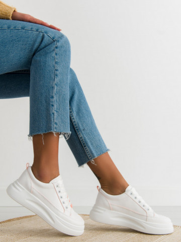 Pantofi sport cod QSN80711 White/Pink