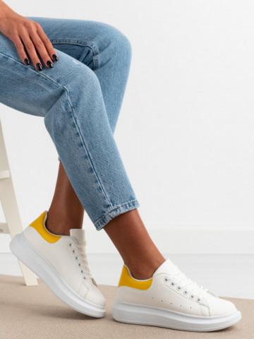 Pantofi sport cod R690 Yellow