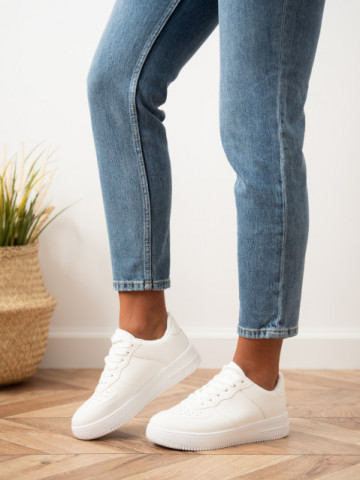 Pantofi sport cod R699 White