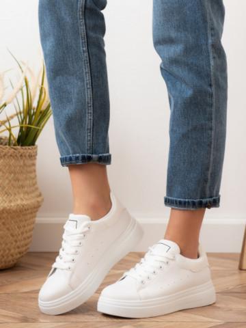 Pantofi sport cod X2931 White