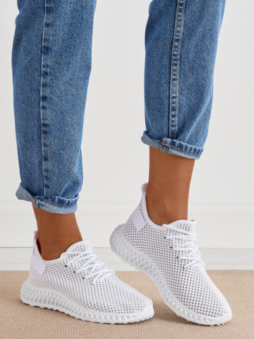 Pantofi sport cod X2955 White