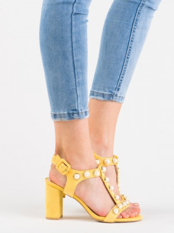 Sandale cod 3A3490-16 Yellow