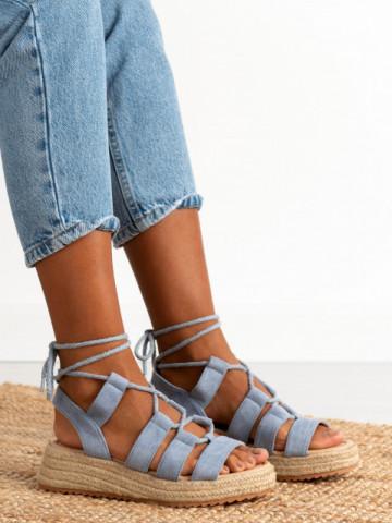Sandale cod LE220 Jeans