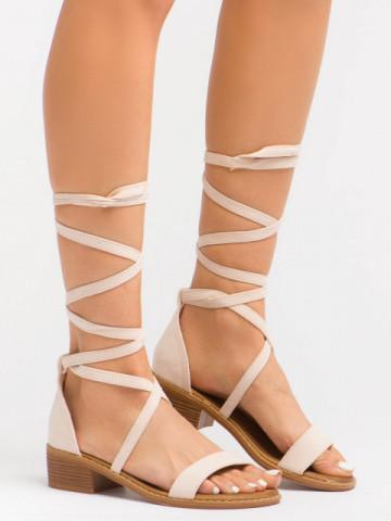 Sandale cod LL227 Beige