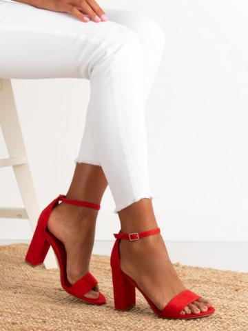 Sandale cu toc cod AF-03 Red