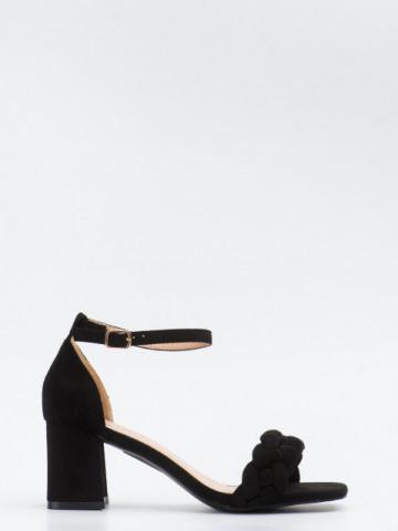 Sandale cu toc cod GG102 Black