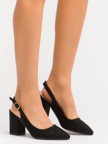 Sandale cu toc cod GG83 Black
