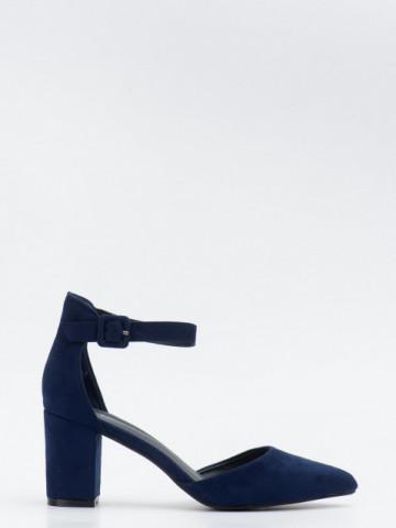 Sandale cu toc cod LL216 Blue