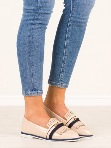 Pantofi casual cod 6216-14 Beige