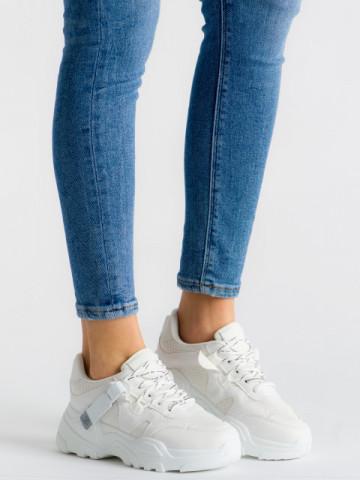 Pantofi sport cod ABC-310 White