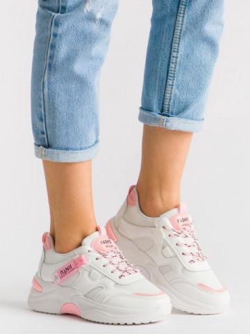 Pantofi sport cod A-5 Pink