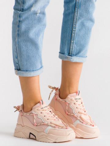 Pantofi sport cod B62 Pink