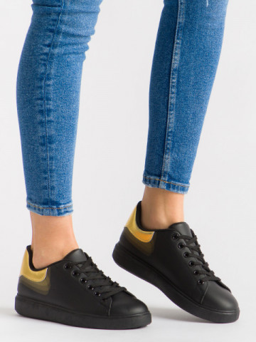 Pantofi sport cod R-686 Black