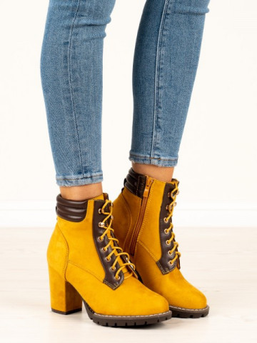 Botine cod 995-37 Yellow