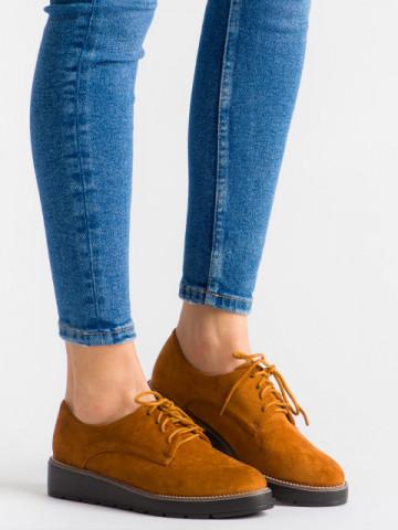 Pantofi casual cod 18-107A Camel