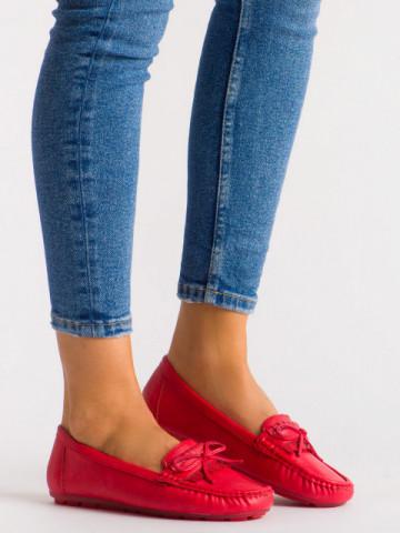 Pantofi casual cod 9F182 Red