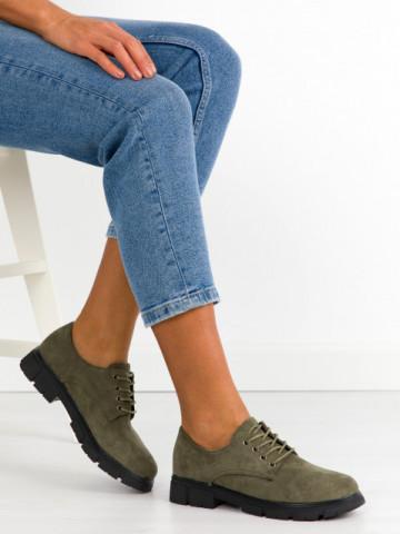 Pantofi casual cod AG05 Green