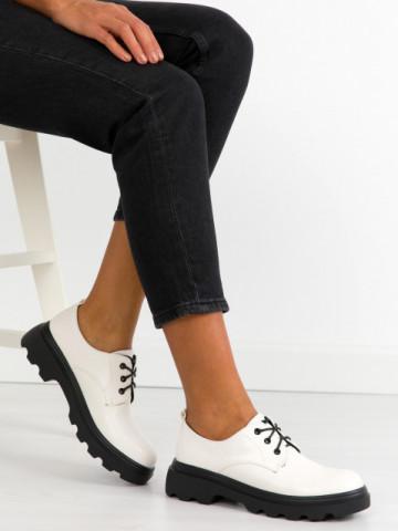 Pantofi casual cod KM21 White