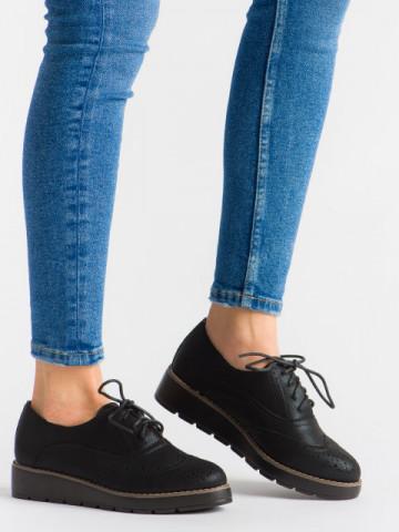 Pantofi casual cod T60 Black